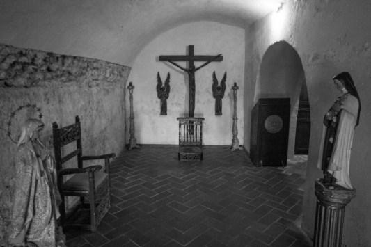 Quiet chapel