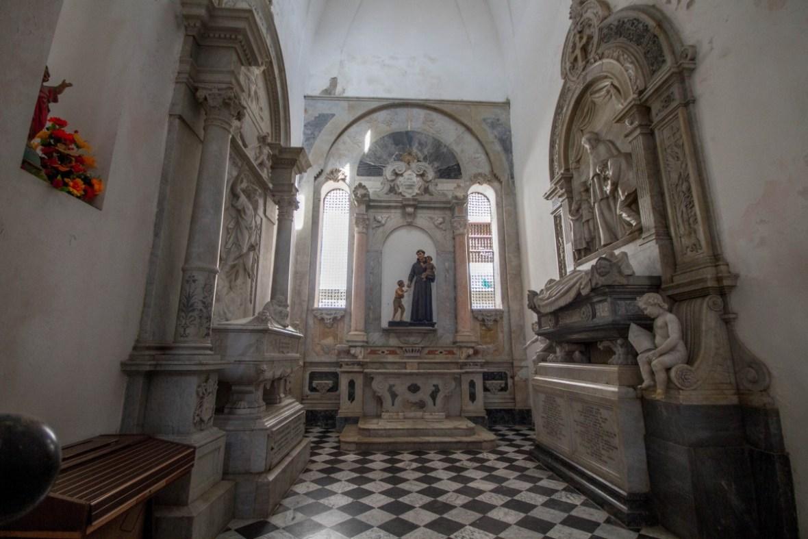 Cartagena - Chapel in Iglesia Santa Catalina de Alejandra