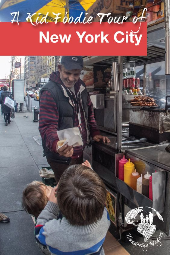 A Kid Foodie Tour of New York City - Pinterest
