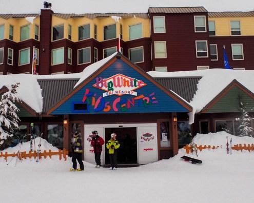 Kids centre at a ski resort - Learning to Ski at Kelowna's Big White