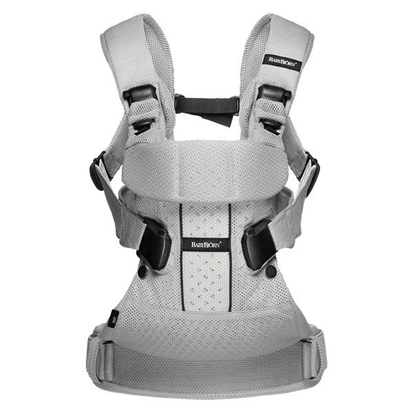 Baby Bjorn Baby Carrier One Air in Silver is our favorite infant carrier