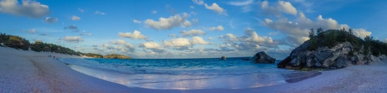 Panoramic of Horseshoe Bay Beach