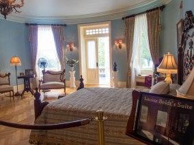 Louise Boldt's fully furnished bedroom.