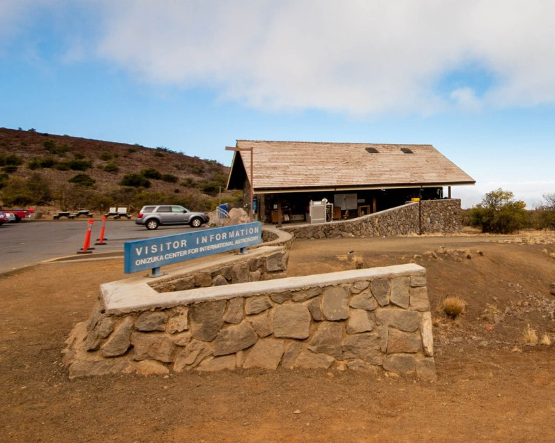 Mauna Kea visitor information station stop is highly recommended when you summit Mauna Kea