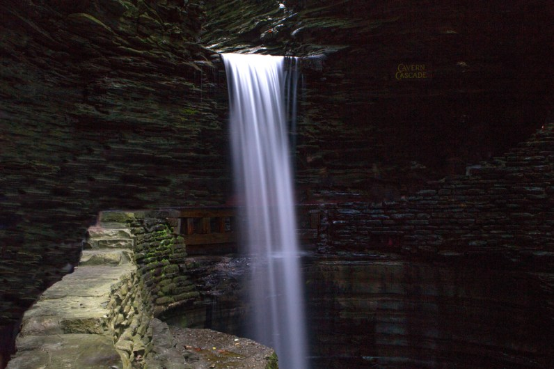 One of the many waterfalls of Watkins Glen is a must when in the Finger Lake with kids.