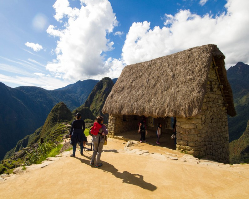 Guardian's House in the agricultural sector of Machu Picchu.