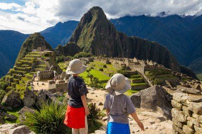 When on a family adventure travel to Peru visiting Machu Picchu with kids is a must do activity.