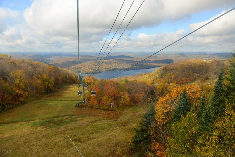 Mont Tremblant near Montreal Quebec is one of the most amazing places in Canada