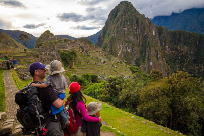 One last look before leaving Machu Picchu.