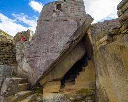 Royal Tomb at Machu Picchu.