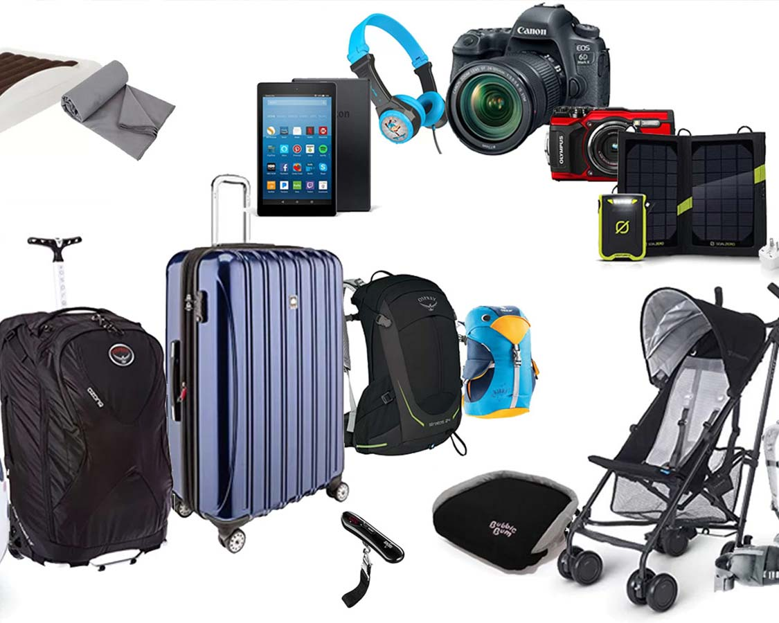 Find the best travel gear for families