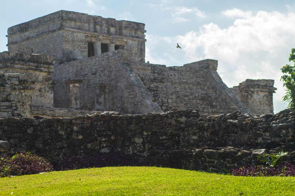 El Castillo in Tulum Mexico ruins