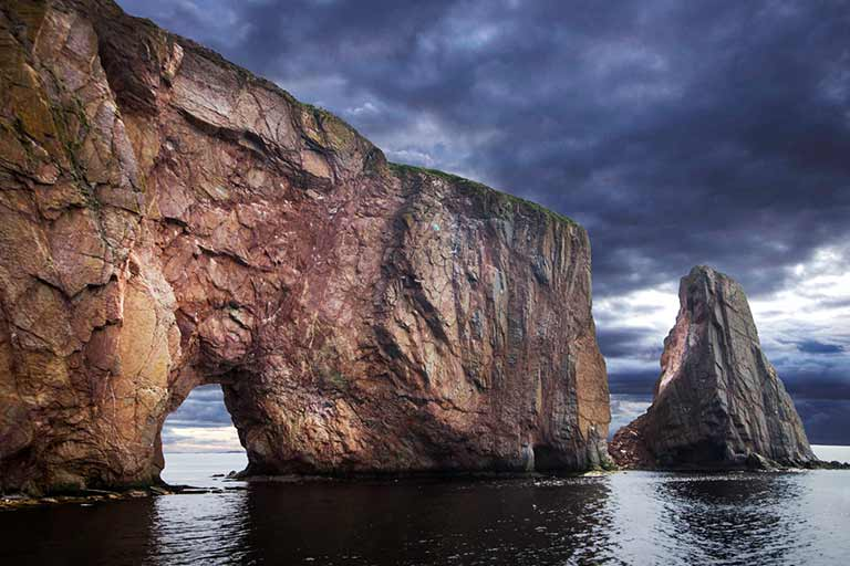 Perce Rock and Bonaventure Island Quebec