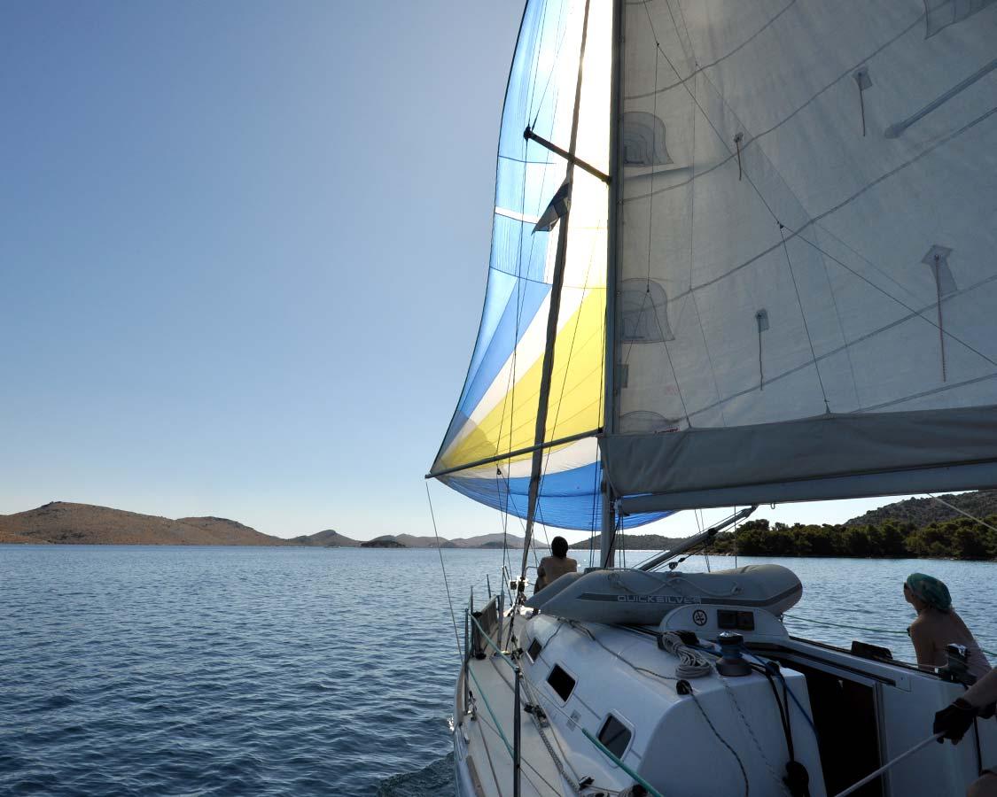 Sailing with kids in Croatia