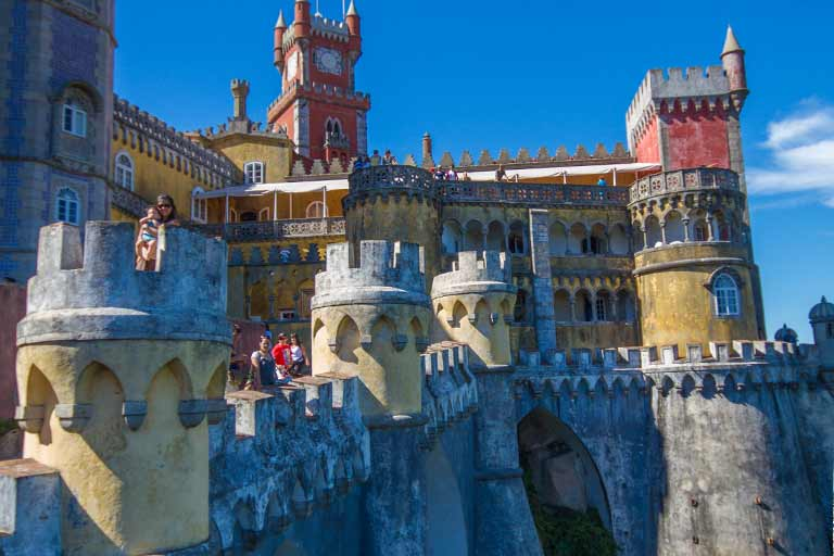How to visit Sintra Portugal with kids