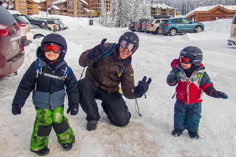 Learning to Ski in Big White B.C.