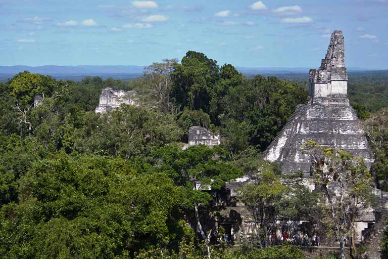 Visiting Tikal from Belize with kids