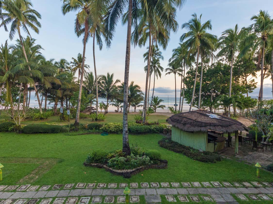puerto princesa palawan hotel review: daluyon beach and spa mountain