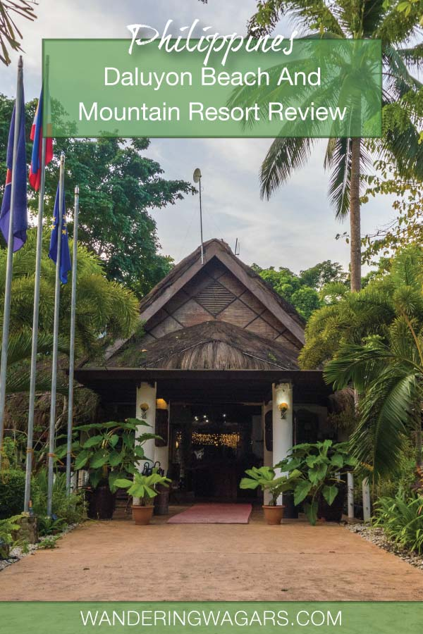 The Daluyon Beach and Mountain Resort is an eco-resort in the town of Sabang. It is one of the best hotels near the Puerto Princesa Underground River.