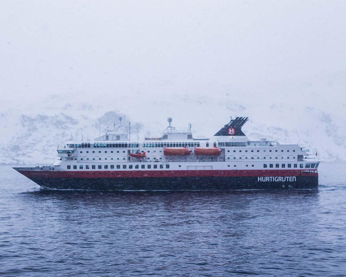 Hurtigruten Cruise Ship Noronorge