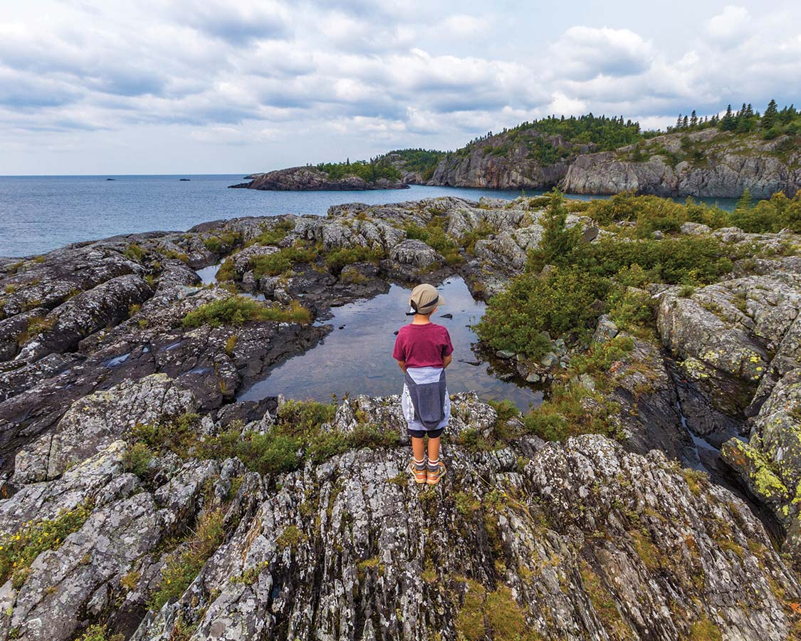 National Park Camping in Ontario Pukaskwa National Park Shoreline