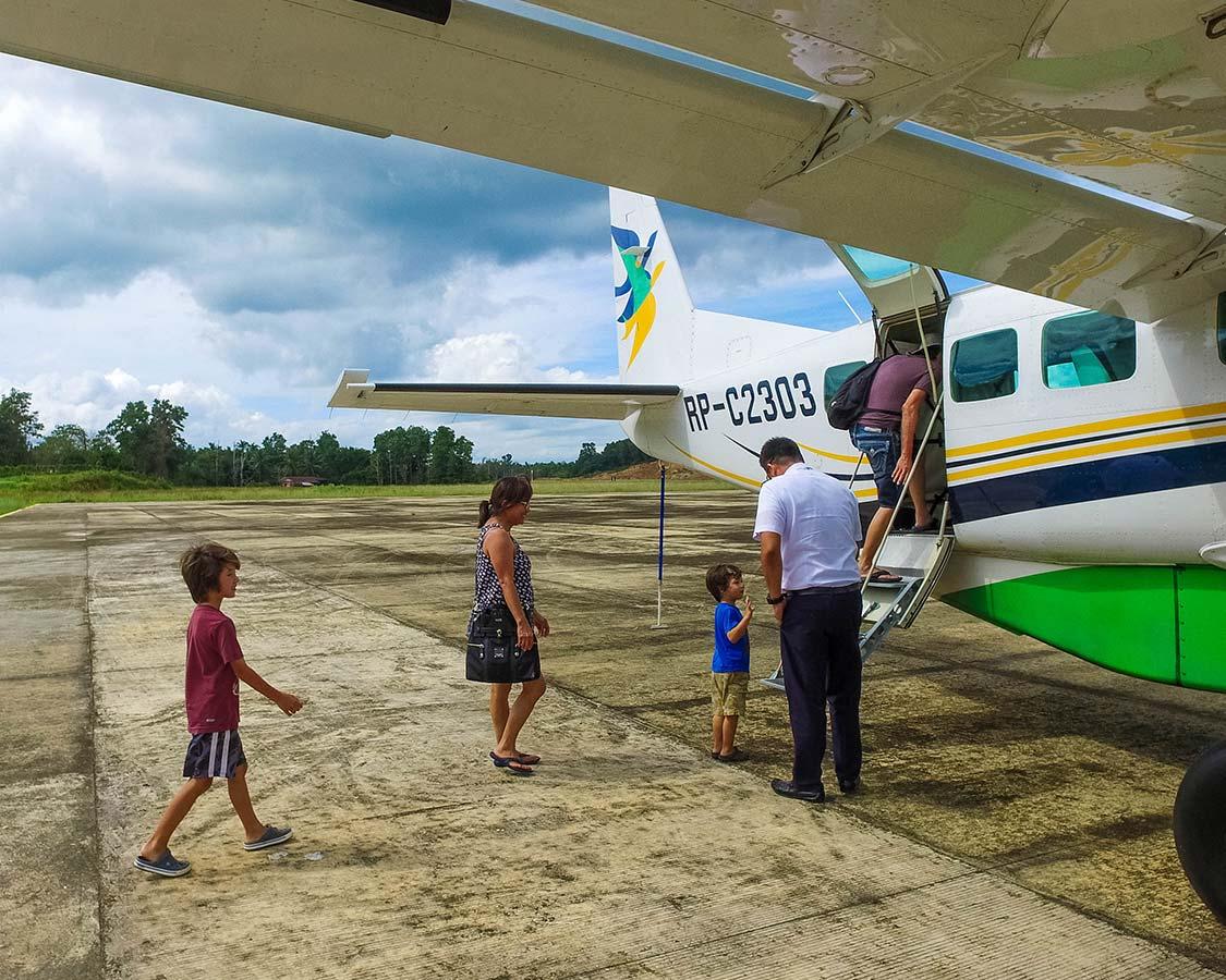 San Vicente Palawan Airport Planes