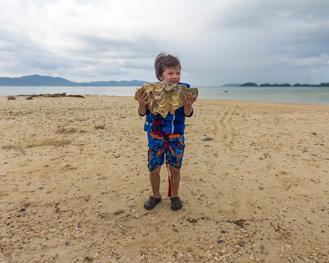 Things To Do in San Vicente With Kids - shell hunting
