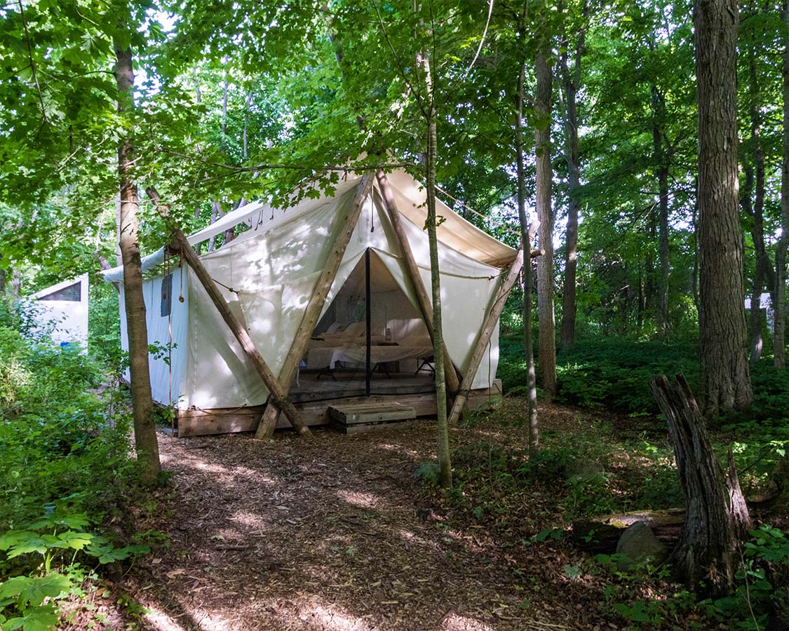 Forest Tent Glamping Prince Edward County