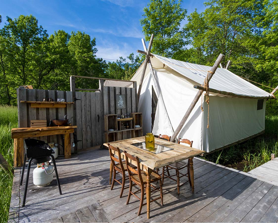 Find out why there's no better way to experience Ontario's wineries and culinary delights than by glamping Prince Edward County at Fronterra Farm and Camp