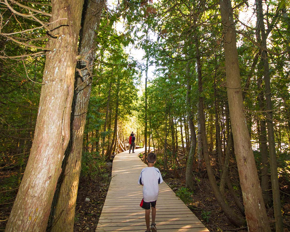 Hike to the Grotto in Bruce Peninsula National Park