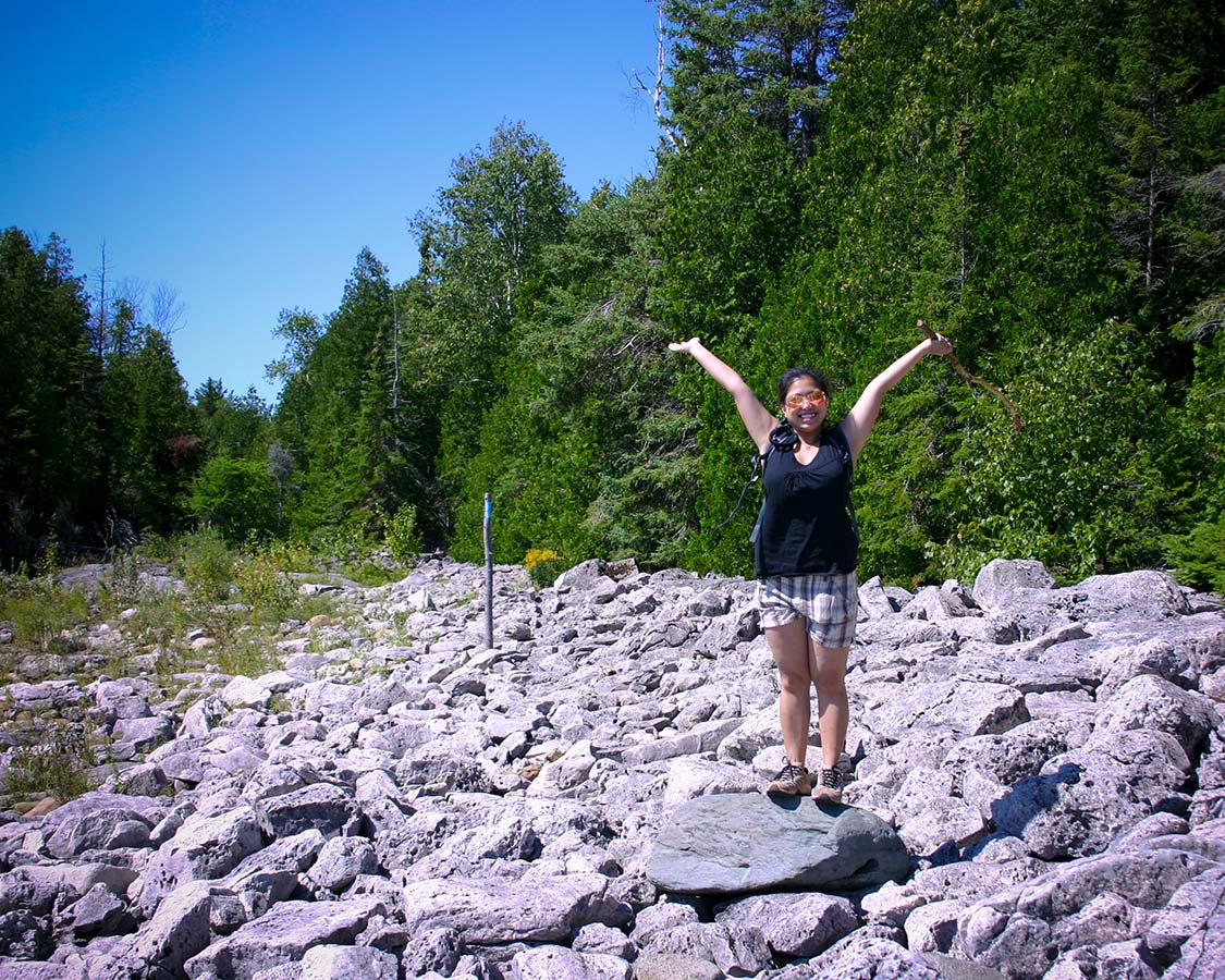 Hiking in Bruce Peninsula National Park