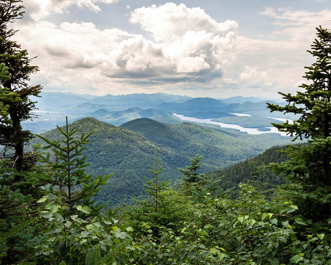 Lake Placid In Summer Hiking Adirondacks