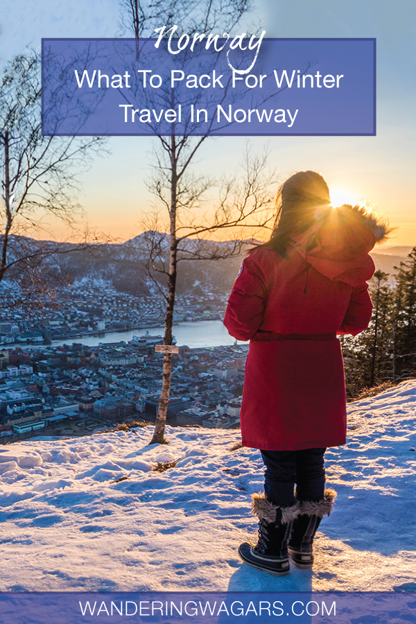 Want to know what to pack for Norway in winter? For exploring the cities, trails, and fjords we have the ultimate Norway winter packing list for the family.