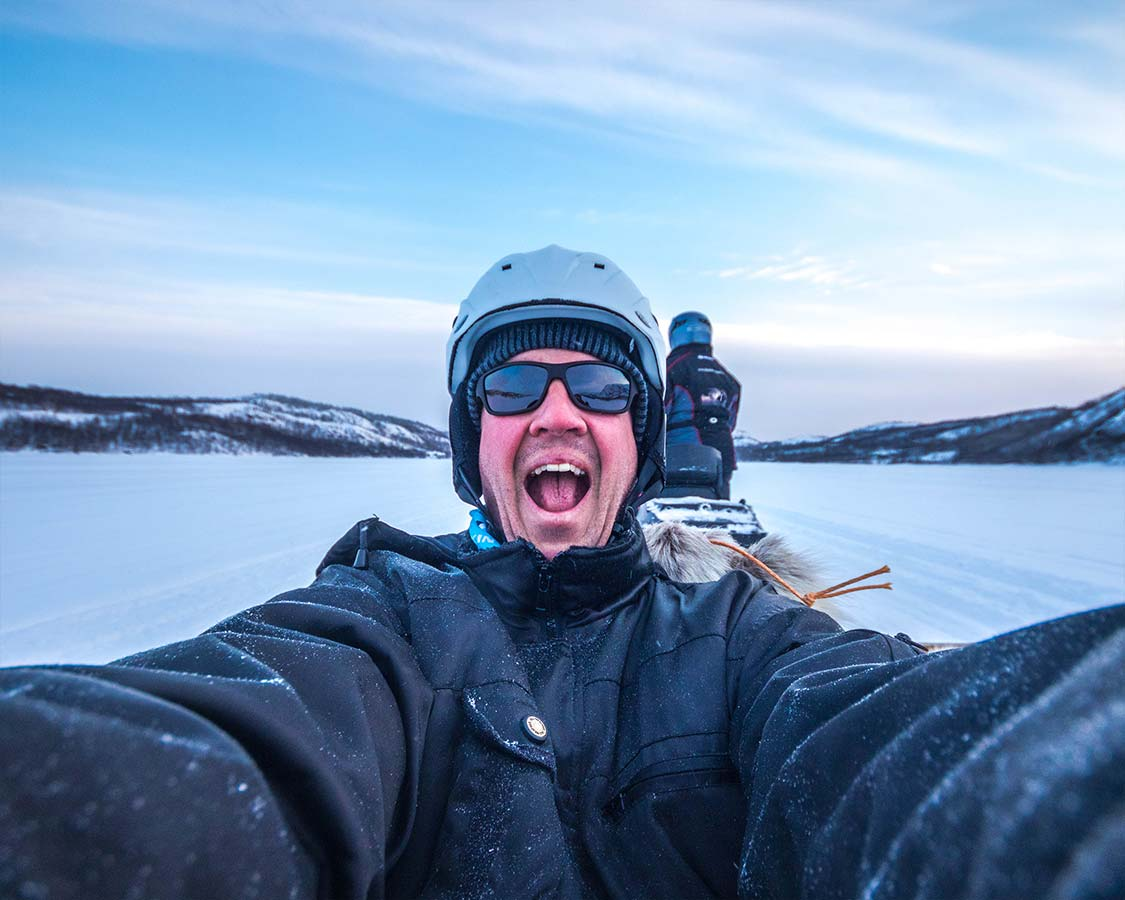 Things to do in Kirkenes Snowmobiling on a fjord