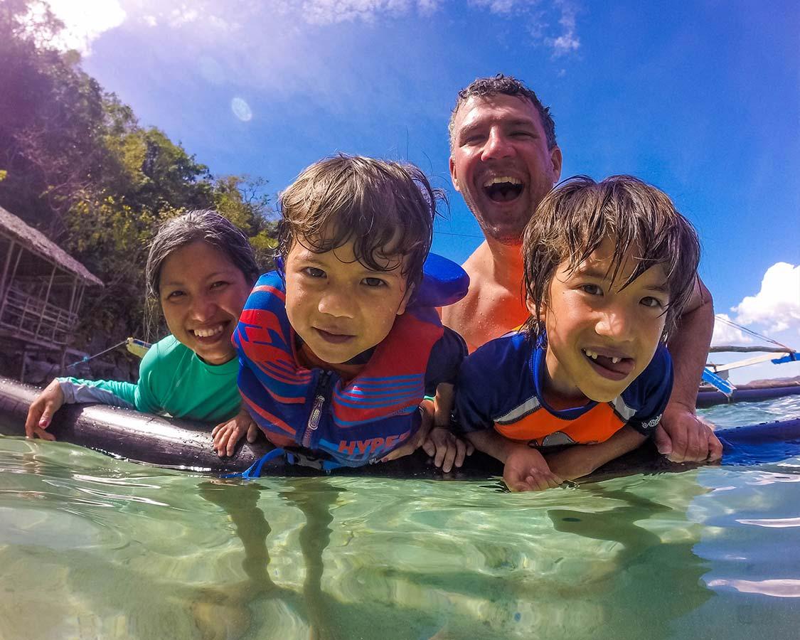 Wandering Wagars in Coron Palawan Philippines