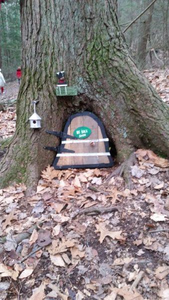 Fairy House at base of tree