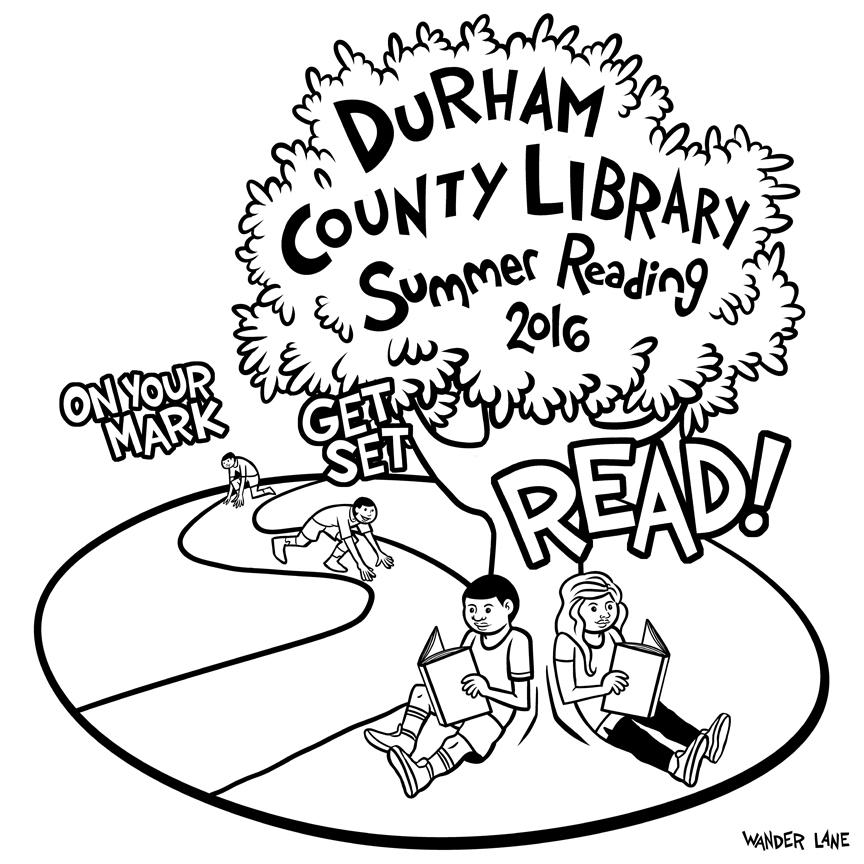 DURHAM LIBRARY SHIRT 002
