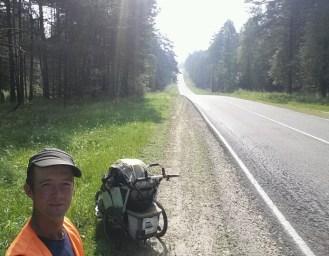 Affenhitze, aber zum Glück kaum die Insektenplage wie noch in der Novgorod Oblast vor einigen Wochen.... hier ist es einfach trockener, weil es keine Sümpfe gibt.