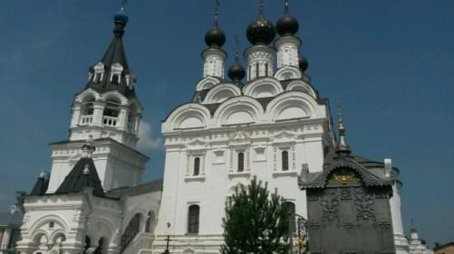 Fantastisch: Die Kathedrale des Dreifaltigkeits Klosters im Zentrum von Murom.