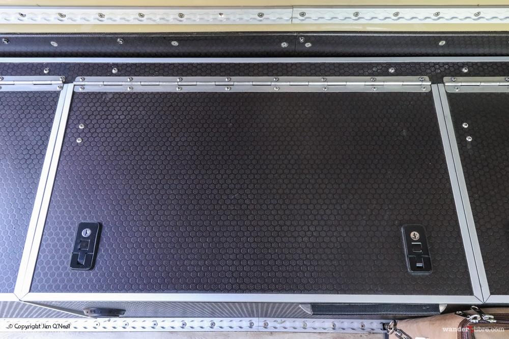 Lockable Storage Compartment