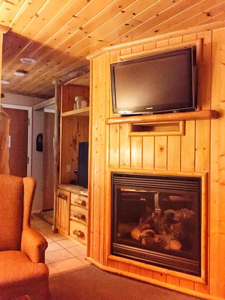 The room at Marina Resort Big Bear Lake California