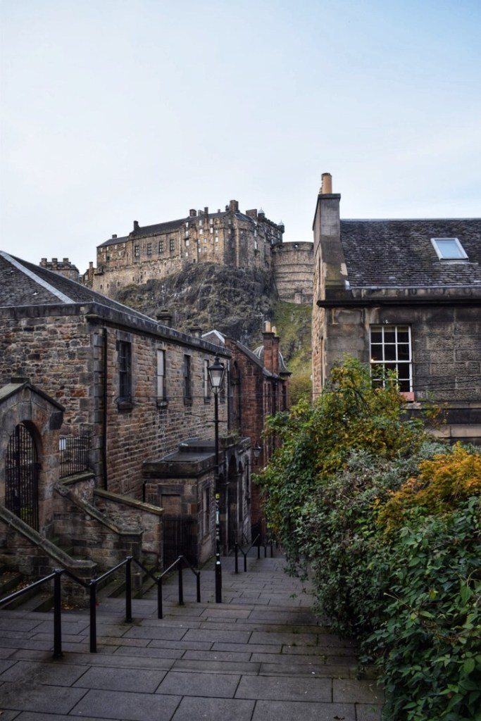 the vennel one of the most instagrammable places in Edinburgh