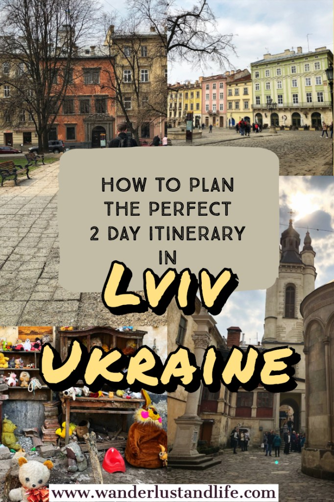 Lviv is a magical city, often referred to as the cultural capital of Ukraine. It is rustic and rough around the edges, but during our weekend in Lviv we fell in love. Here is our guide to seeing Lviv in 2 days, including the best things to do in Lviv, and a comprehensive 2 day Lviv itinerary. #lviv #ukraine #easterneurope #wanderlustandlife