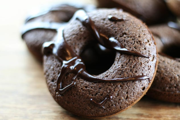 Nut-free chocolate donut