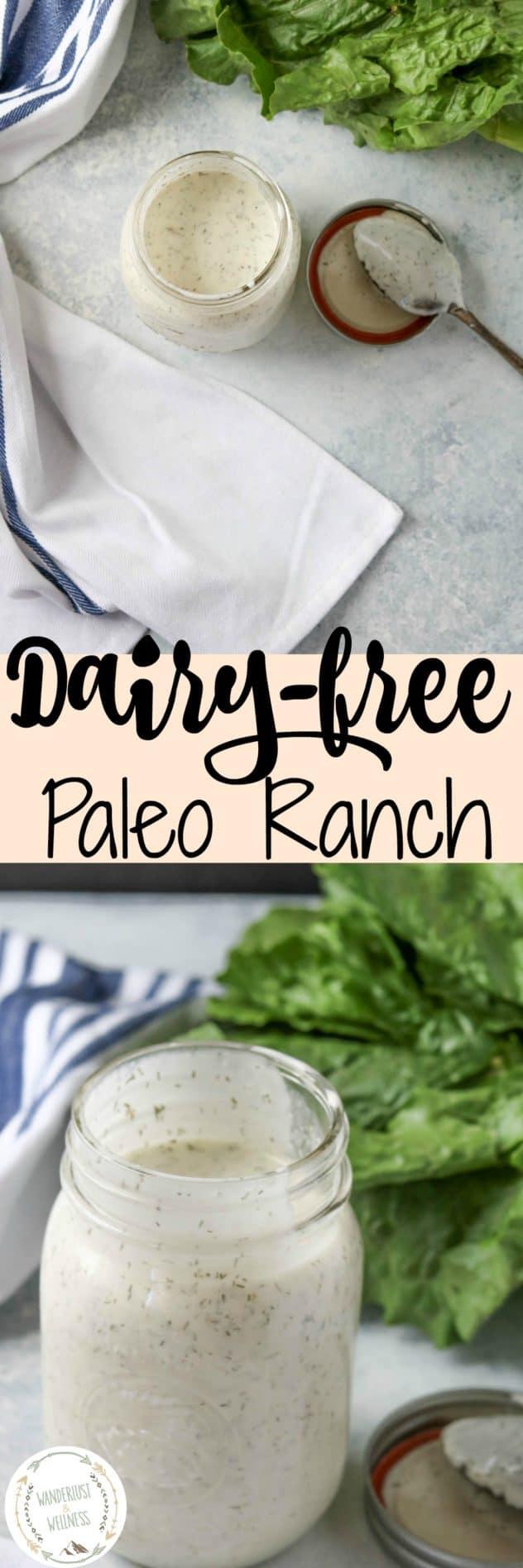 Dairy-Free Paleo Ranch