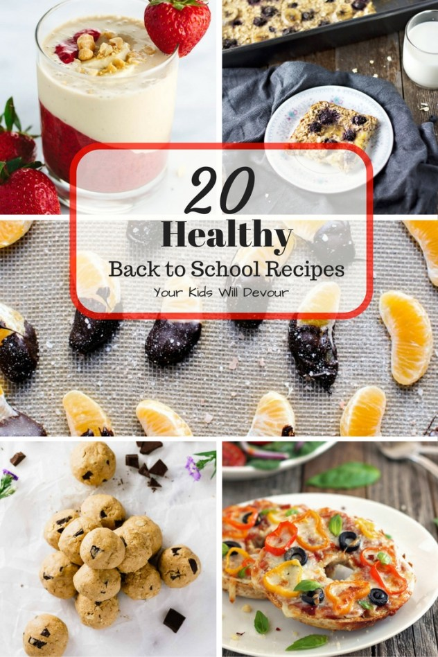 20 Healthy Back to School Recipes