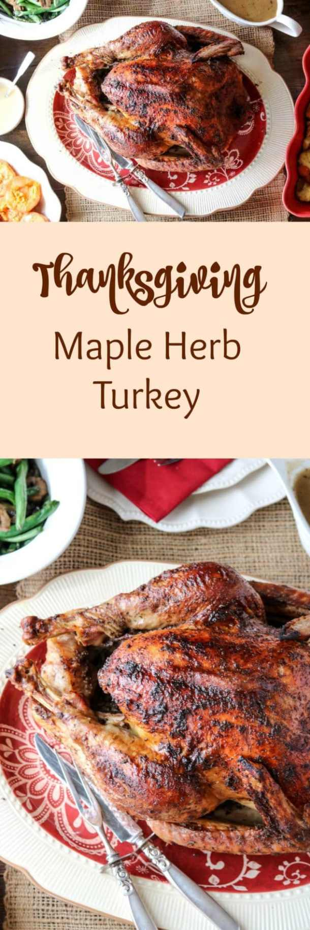 Thanksgiving Maple Herb Turkey