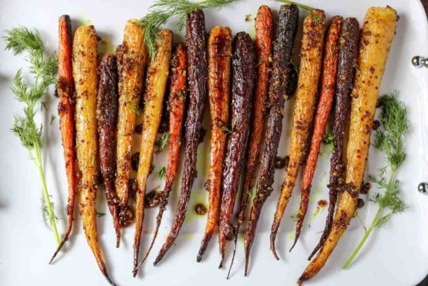 maple-mustard-roasted-carrots