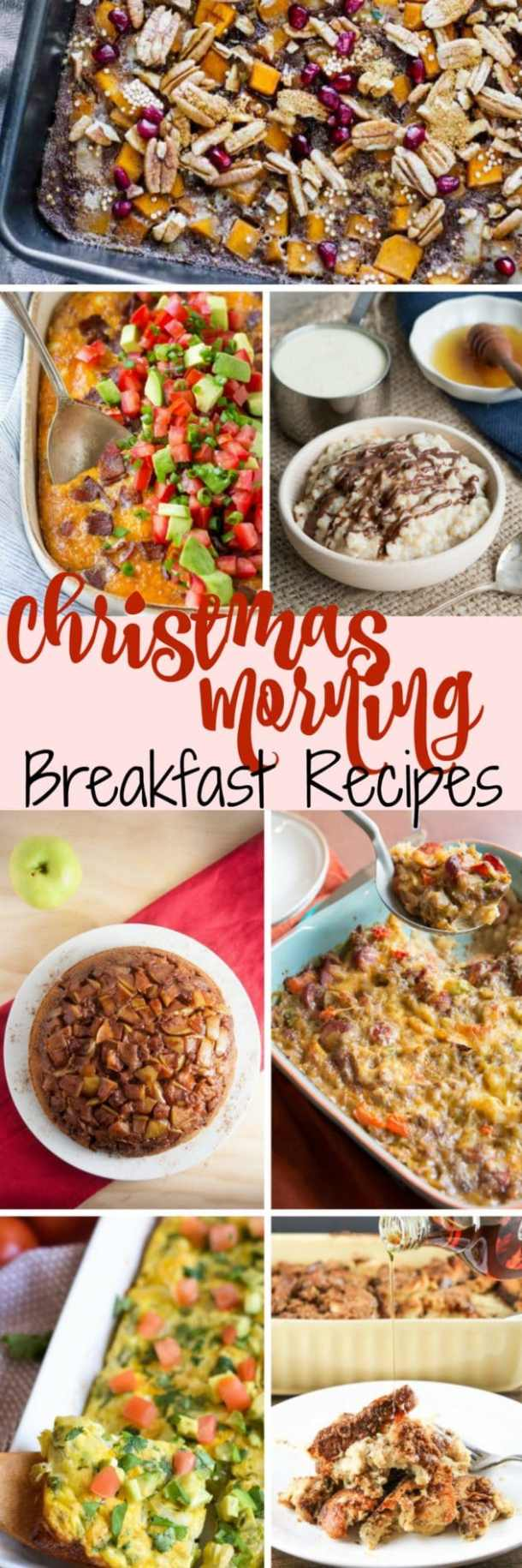 7 Christmas Morning Breakfasts