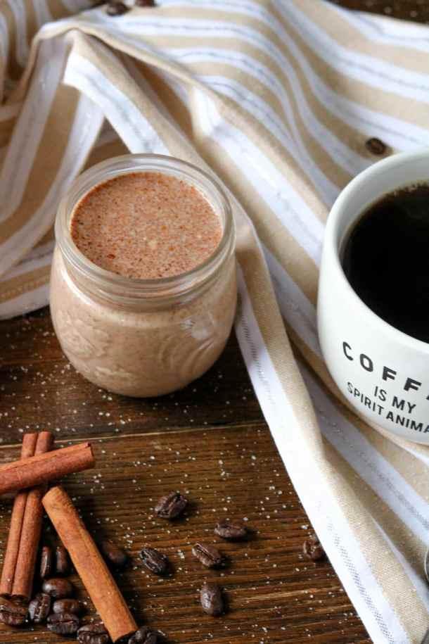 dairy-free cinnamon roll coffee creamer